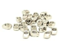 M3 M4 M5 Drop In T-Nuts for 2020 Aluminium Extrusion 5/10/25/50/100 Packs UK