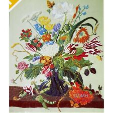 Spinnerin Stitchery Masterpiece Vintage Crewel Embroidery Kit Marjorie Gosz Wool