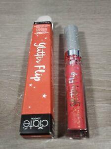 Ciate London Glitter Flip Transforming Glitter Liquid Lipstick ~TROUBLE Full Sz