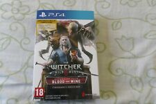 The Witcher 3 Wild Hunt Expansion Pack Blood and Wine - Ps4