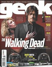 Geek magazine The Walking Dead Norman Reedus PS4 XBox One Thor Doctor Who