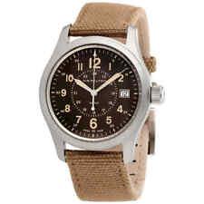 Hamilton Khaki Field Brown Dial Men's Watch H68201993