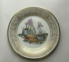 Lenox China Boehm Bird Plate - Fgc golden crowned kinglets 1979 10.75in