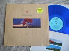 DEPECHE MODE Music For The Masses MUTE LP 1987 blue vinyl + SWISS TOUR STICKER