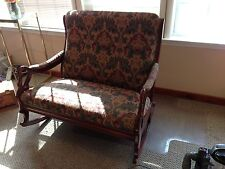 Double wide Upholstered rocking chair