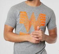 WHATABURGER What a Burger Retro Brand Gray Tee T-Shirt Mens Size S, M, L **NEW!
