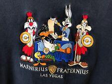 WARNER BROS STUDIO Sweatshirt Warnerius Fraternius Las Vegas Adult  XXL