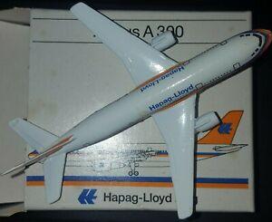 Schabak Hapag-Lloyd Flug Airbus A300 903/18 1:600 Scale Airplane Diecast Model