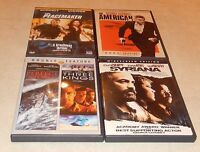 Lot of 5 George Clooney Action DVD WS  Peacemaker American 3 Kings Syriana Storm