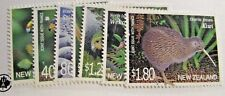 NEW ZEALAND Sc #1688-94 ** MNH , Joint issue France, bird stamp set fine +