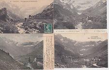 Lot 4 cartes postales anciennes GAVARNIE le cirque 2