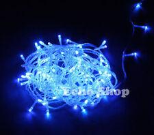 Guirlandes et bannières de fête bleu pour la maison Noël