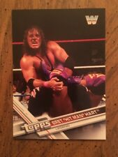 Bret Hit Man Hart Topps WWE 2017  Card