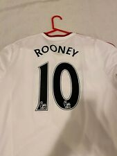 Wayne Rooney Manchester United 2014/2015 Away Jersey Long Sleeve Adult Large