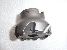 NEU 45° Planfräser mit IK Nubius NE-50-45° für ALU  Ø 50mm