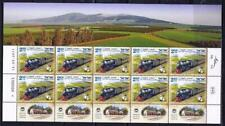 ISRAEL STAMPS 2011 VALLEY RAILWAY TRAIN SHEET  MNH