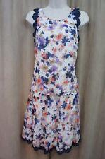 Jessica Simpson Dress Sz 8 Multi Color Floral Print Sleeveless 2 PC Skirt Set
