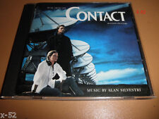 CONTACT soundtrack CD score ALAN SILVESTRI jodie foster matthew mcConaughey OST