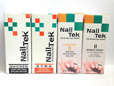 Nail Tek Treatment Set of 4 Intensive Therapy II, Foundation II, XTRA & Quick