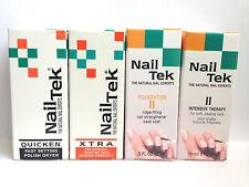 NAIL Tek trattamento Set di 4 terapia intensiva II, Foundation II, XTRA & QUICK
