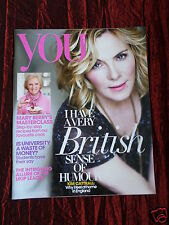 "KIM CATTRALL - ""YOU "" UK SUPPLIMENT MAGAZINE - 2 JUNE 2013"