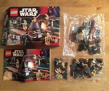 LEGO StarWars 7654 - Droids Battle Pack - mit Karton und Anleitung