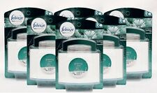 6 Febreze Set & Refresh GLISTENING PINE Air Freshener Refill & Diffuser Kit
