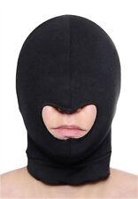 Sexy Fetish Black mask Hood