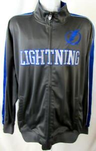 Tampa Bay Lightning Big Men 2XL or 4XL Full Zip Performance Track Jacket ATBL 42