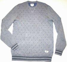 New Vans Mens Andover Pullover Crew Cotton Knit Sweater Medium