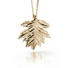 Irish Gold Pendant - Hawthorn - Sacred Trees Collection by Soul Engraver