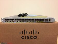 Cisco Catalyst WS-C4948E-E 48 Port Layer 3 Gigabit Switch Dual AC -SAME DAY SHIP