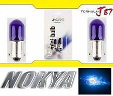 Nokya Light Bulb BA9s Blue 5W Nok6421 Interior Turn Signal Corner Gauge Panel