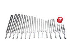 26 Tuning Forks- 7 chakras + 11 Planetary+ 8 Harmonics