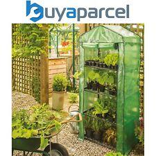Gardman 08743 4 Tier Mini Compact Growhouse Garden Greenhouse With Cover
