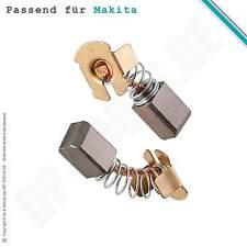 Spazzole per MAKITA Batteria-SMERIGLIATRICE ANGOLARE BGA 450 7x7,2mm (cb-430)