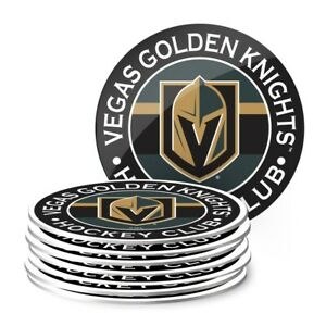 Vegas Golden Knights NHL Team Logo Coasters (Package of 8)