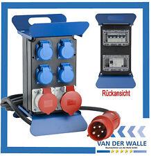 Baustromverteiler Stromverteiler 32 A STECKY 400 V 60510