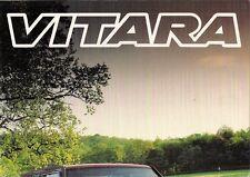 Suzuki Vitara 1993-94 UK Market Brochure Soft Top Estate 3-dr 5-dr Sport JLX SE