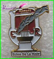 Pin's La Fanfare Ville de ECHOS DE LA RISLE harpe #35