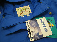 Cabela's ULTREX by BURLINGTON Men's All Weather Hooded Blue Jacket/Coat ~ Sz. S