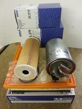 VW Sharan 1.9 TDi 1896cc Oil Air Fuel Filter Kit Mahle 2000-10 90 115 bhp