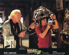 Back To The Future Part 3 lobby card  # 5 - Michael J. Fox , Christopher Lloyd