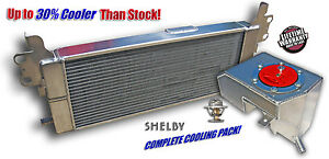 EXTREME DUAL PASS HEAT EXCHANGER & INTERCOOLER 2007-2012 Ford SVT SHELBY GT500