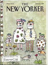 New Yorker Magazine June 14 1999 William Steig Stanley Kubrick Antique Roadshow