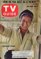 1960 TV Guide June 4 - Darren McGavin-Riverboat; Peggy Castle-Lawman;Ray Milland