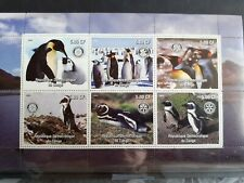 G130 Grand Bloc Feuillet RDC PINGOUINS Antarctique MNH