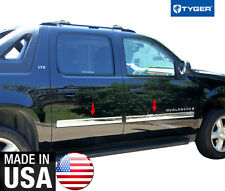 """TYGER For 07-2008.5 Suburban/Avalanche Body Side Molding Trim 3.5"""" Full Wide 4PC"""