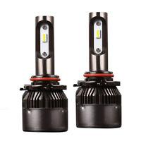 36W 8000LM 6500K White H4/H7/H8/H11/9005/9006 High Low Beam LED Headlight Bulbs