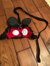 disney mickey mouse dog harness with leash size M